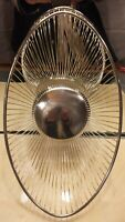 ORIG PM ITALY Vintage Retro MCM Silver Plated Wire Fruit Bread Basket Ex Cond!