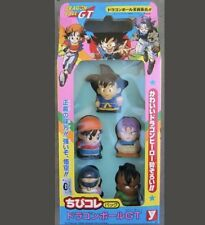 Dragon Ball GT Chibi Set of 5 Mini Figure Figures Collection Yutaka 1996 RARE UR