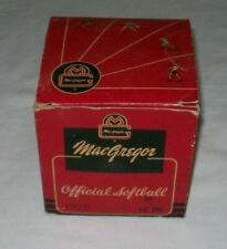 Vintage MacGregor Official Softball 12""