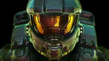 "XBOX 360 PS3 PS4 HALO MASTER CHIEF 13""X19"" POSTER PRINT GAME ROOM #1"