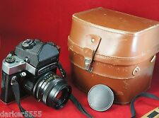 KIEV 60 TTL 6x6 Medium Format MC VOLNA-3 2.8/80 mm Lens, CASE,  Pentacon Copy