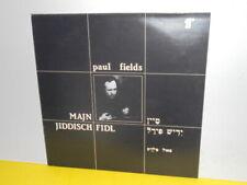 LP - PAUL FIELDS - MAJN JIDDISCH FIDL