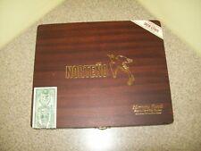 New listing Norteno Herrera Esteli 6 x 50 Toro Hinged Wood Cigar Box (Empty)