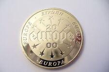 SUPERBE ECU EUROPA 2000 - AVEC VERSO CALENDAIRE - RARE   ***
