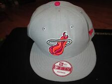 New Era Miami Heat Snap Back Mens Hat