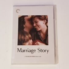 Marriage Story - Criterion Collection DVD - Like New Scarlet Johansson Baumbach