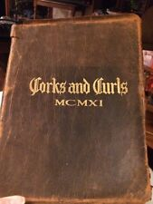 Corks and Curls, 1911 yearbook of the University of Virinia.