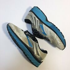 Brooks Adrenaline GTS 18 Running Shoes- White/Black/Teal - Size Women's 8.5
