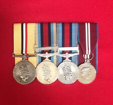Court Mounted Full Size Medals, Iraq, Afghanistan, Shader, Diamond Jubilee, Army