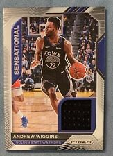 2020 Panini Priam Andrew Wiggins Patch Insert #SSW-AWG GS Warriors
