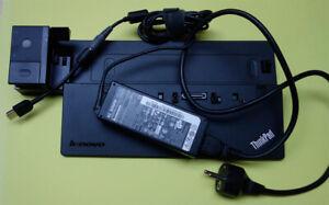 Docking USB3.0 Lenovo THINKPAD X240 X250 X260 X270 T440 HDMI + Power Supply