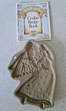Brown Bag Cookie Art 1986 Angel with Lute Hill Design RETIRED SWEETS MOLD