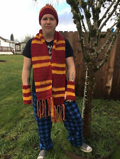 Harry potter hat, scarf, glove set *All houses available*