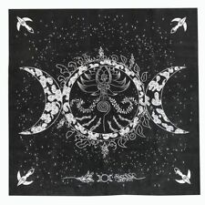 2020 New Triple Moon Pentagram Altar Tarot Cloth Divination Cards Velveteen