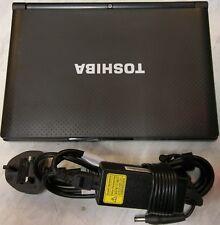 "Toshiba NB500-12X 10.1"" (160GB, Intel Atom, 1.66GHz, 2GB) Netbook - Matte Black"