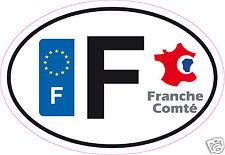 Autocollant sticker département 25 Franche Comté