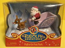 Rudolph Reindeer Adventures Rudolph & Santa Pull N Go Fun Packs