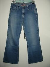Silver Jeans Womens Size 28/29 (27x28) Distressed Flare Jeans 76-2119