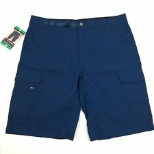 NEW BC Clothing Expedition Men's Stretch Cargo Short 38 Teal