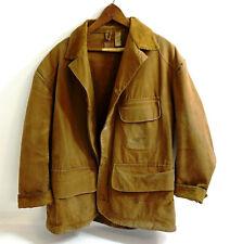 Vintage 1930's UTICA - DUNBAK original Hunting Coat Size 48 Made in Utica NY USA
