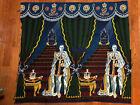 "Rare Vintage Tapestry. British Royal, Order of Garter, King George VI,  49""X44"""
