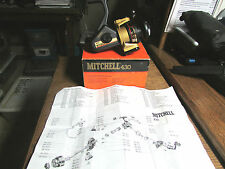 ~~~MITCHELL 430~~~NEW IN BOX~~~AMBIDEXTROUS HANDLE~~4.9:1 GEAR RATIO~~~~