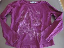 T-Shirt, Shirt Gr. 128, Lila, alive, Motiv, Langarm