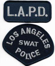 2-teilig Los Angeles LAPD SWAT SEK Polizei Abzeichen Police Department Patch USA