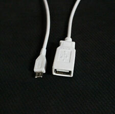 USB 2.0 Micro V8 On The Go OTG Host Cable Adapter for Samsung HTC Android