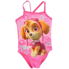 Paw Patrol Skye Character Girls 1 Piece Swim Wear Surf Swimsuit Swimming Costume