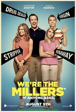 WE'RE THE MILLERS MOVIE MOVIE POSTER Original DS 27x40 JENNIFER ANISTON 2013