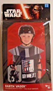 NEW Halloween Disney Star Wars DARTH VADER Ages 5-8 Children's Bicycle VEST