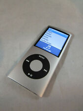 Apple iPod Nano 4th Generation 8GB Silver A1285 Works Used