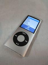 Apple iPod Nano 4th Generation 8Gb Silver A1285 Works Used