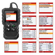 Fits vauxhall Car OBDII Code Reader Scanner Engine Diagnostic Tool Colour Screen