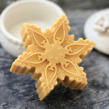 X'mas Snowflake Silicone Soap Molds Flexible Soap Making Molds Candle Resin Mold