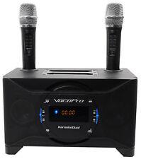 Vocopro KaraokeDual Tablet/Smart TV Karaoke Machine System w/ Dual Wireless Mics