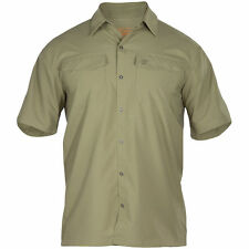 Polyester Military Casual Shirts & Tops for Men