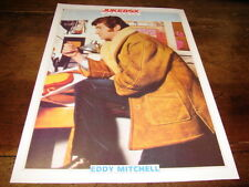 EDDY MICHELL - Mini poster couleurs !!!!!!! 2 !!!!JUKEBOX !!!!!!!!!!!!!!