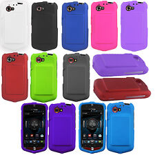 Casio G'zOne Commando 4G LTE Rubberized HARD Protector Case Snap On Phone Cover