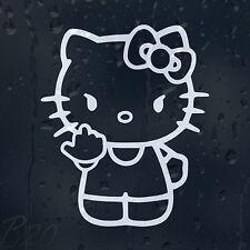 Hello Kitty Car Window Windscreen Body Panel Laptop Phone Decal Vinyl Sticker