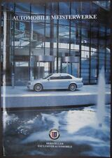 Prospekt BMW ALPINA Modellprogramm 09/2001 B3 3,3  D10  B10 3,3  B10 V8  B12