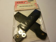 K&S Tail Fins for 60 Size Helicopter