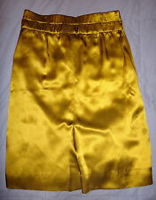 J. CREW SILK GOLD STRAIGHT SKIRT, Size 2/S