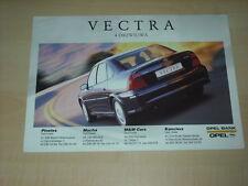 36280) Opel Vectra B Polen Prospekt 1999