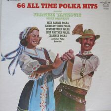 66 ALL TIME POLKA HITS - FEATURING FRANKIE YANKOVIC /MIKE MANKIFF - 4  LP BOXSET