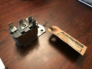 1967 1968 NOS FORD MUSTANG COUGAR LOW FUEL RELAY W/ CONVENIENCE PANEL C7ZZ C7WY