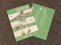 Celtic v Rangers GLASGOW OLD FIRM DERBY Matchday Programme 17/10/2020!