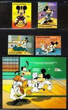 Antigua & Barbuda DISNEY CHARACTERS IN JAPAN NIPPON '91 Stamps & S/S (D611)