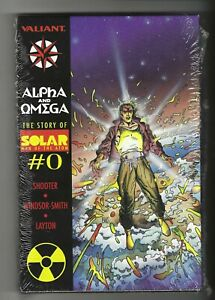 The Story of Solar Man of the Atom #0 Alpha & Omega 9.4 NM, 1991 Valiant